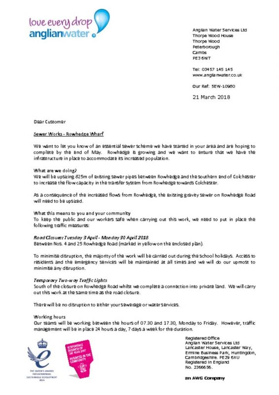 thumbnail of Anglian Water letter to residents